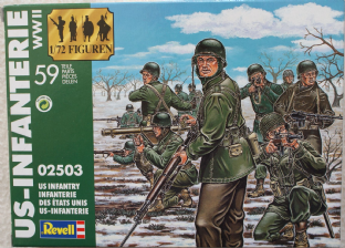 Revell 1/72 RV02503 US Infantry (WW2)